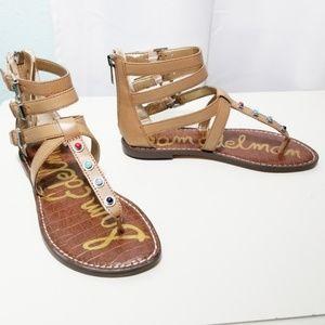 Sam Edelman Genevive Studded Sandal Size 6